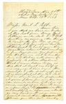 J.M. Smith, Island Number 10, Tennessee, to Major General Leonidas Polk
