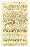Elliot H. Fletcher, Sr., Mill Bayou, Arkansas, to Captain Elliot H. Fletcher, Jr., First Arkansas Battalion, Bowling Green, Kentucky