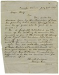 Brigadier General Benjamin McCulloch, Camp Stevens, to Captain Rieff