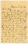 W.A. Ferring, Oakland, to Elliot H. Fletcher, Bowling Green, Kentucky