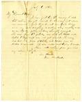 J.M. Loughborough to Mary W. Loughborough