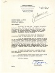 Letter, Ebenezer L. Compere, state director, to Governor Homer Adkins