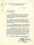 Letter, John L. DeWitt, U.S. Army Lieutenant General, to Governor Homer Adkins
