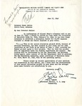 Letter, John L. DeWitt, Lieutenant General, United States Army to Governor Homer Adkins