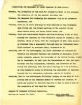 Resolution by the Manzanar Citizens Federation
