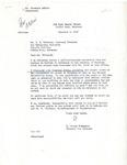 Letter, D. Palmer Patterson to E.B. Whitaker