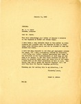 Letter, Governor Homer Adkins to I.C. Oxner, Distributor for Gulf Oil Products