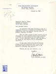 Letter, E.B. Whitaker to Governor Homer M. Adkins