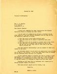 Letter, Governor Homer Adkins to U.S. Senator Albert Benjamin Chandler