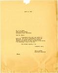 Letter, Joe N. Martin, executive secretary for the Governor of Arkansas, to John L. Byers
