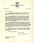 Letter, Edward J. Meeman to Governor Homer M. Adkins