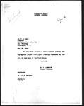 Memorandum, Ray D. Johnston to Dillon S. Myer