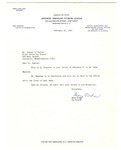 Letter, Mary Toda to Dr. Joseph Hunter