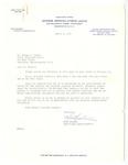 Letter, Mike Masaoka to Dr. Joseph Hunter