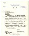 Letter, Mike Masaoka to Mickey Nakamura