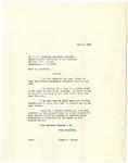 Letter, Dr. Joseph Hunter to A.C. Stratton