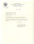 Letter, Chester C. Brown to Joseph B. Hunter