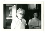 Photograph of Betty Hunter and unidentified woman