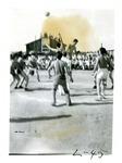 Denson and Rohwer basketball game