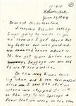 Letter, Natsuni Tomita to Hazel Retherford
