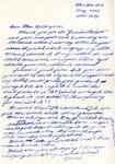 Letter, Marjorie Nagaoka to Hazel Retherford