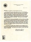 Memorandum, Harold L. Ickes to War Relocation Authority staff