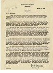Memorandum, D.S. Myer to all War Relocation Authority employees