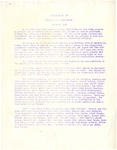 Bulletin Number 10 from Rohwer's Office of the Superintendent of Schools to Rohwer Center School staff