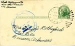 Postcard, Ikuko Motsumoto to Hazel Retherford