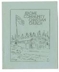 Jerome Community Christian Church program