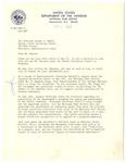 Letter, A.C. Stratton to Dr. Joseph B. Hunter