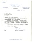 Letter, Mike Masaoka to Dr. Joseph B. Hunter