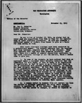 Letter, Dillon S. Meyer to Ray D. Johnston