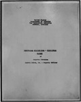 Historical statistical - functional report of the Reports Division for the War Relocation Authority