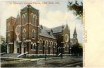 Postcard of St. Edward's German Church, Little Rock, Arkansas