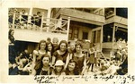 Beach house photograph, the Kauffman family and others