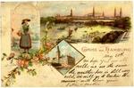 Emil and Elizabeth Wehrfritz Postcard, May 20th, 1900