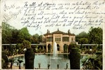 Emil and Elizabeth Wehrfritz Postcard, July 4th, 1900