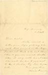 Letter, Louisa Keramer to her Uncle, Edward Reichardt