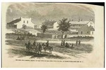 Drawing, Fort Smith, Indian Territory, Arkansas