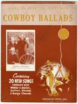 Cowboy Ballads, Folio No. 9
