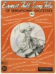 Ernest Tubb Song Folio of Senstational Success