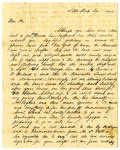 Letter, W.E. Ashley to Chester Ashley