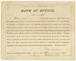 Oath of office, Harris Flanagin