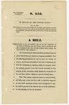 U.S. Senate Bill 256 - Admission of Arkansas to the Union