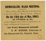 Democratic party meeting notice