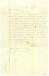 Letter, A.H. Garland to A.G. Shoppach