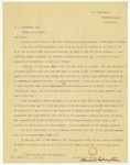 Letter, Powell Clayton to Ben J. Rosewater