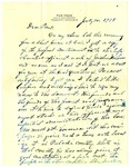 Letters Between Governor Thomas McRae and Paul Grabiel