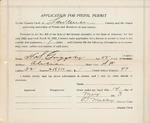 Pistol Permit, H.S. Griggsby